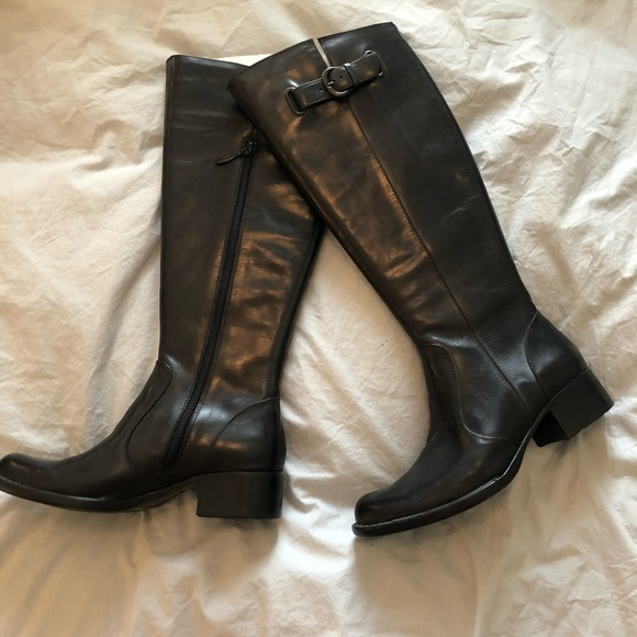 Born Shoes - Leather riding boots